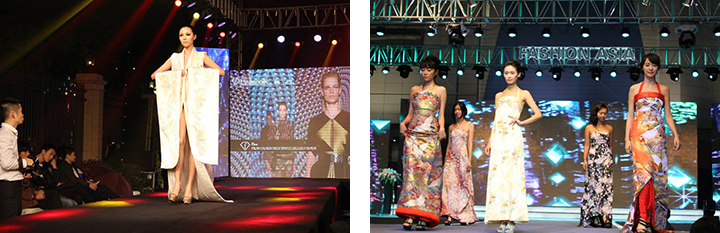 Appeared in fashion shows in Sapporo, China, Tokyo, etc.